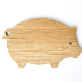 Oak Piggy Board