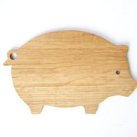 Oak Piggy Board