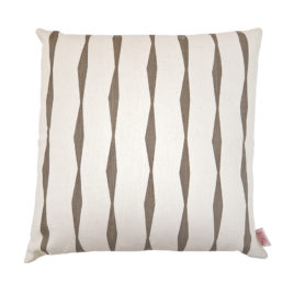 Brancusi Stripe Cocoa Scatter Cushion Cover