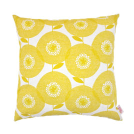 Flower Fields Goldenrod Scatter Cushion Cover