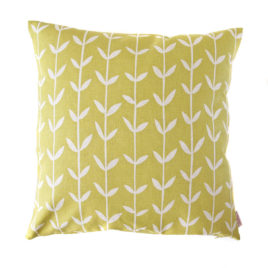 Solid Orla Lemon Scatter Cushion Cover