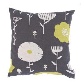 Wildflowers Lemon Plum Scatter Cushion Cover