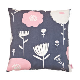 Wildflowers Strawberry Plum Scatter Cushion Cover