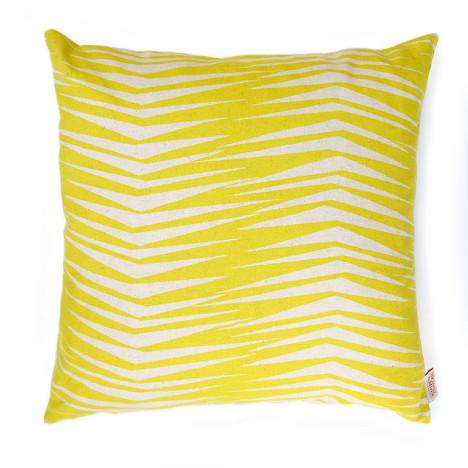 Skinny laMinx_Fronds-cushion-in-RAFFIA