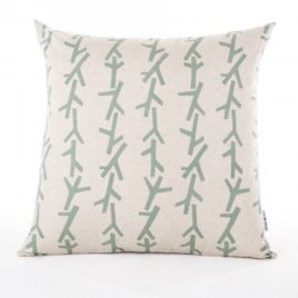 Mint Twigs Scatter Cushion Cover