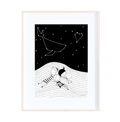 starry night frame