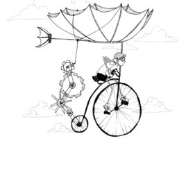 The Flying Machine – Limited Edition Illustration