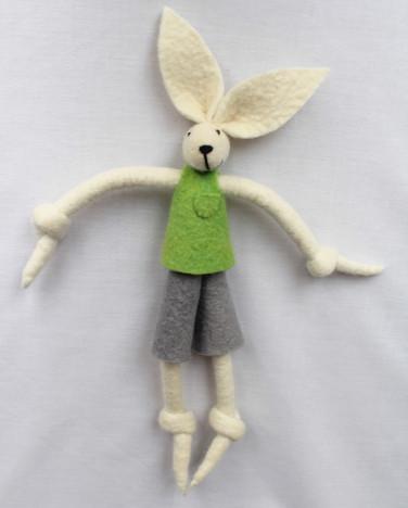 Boy Bunny Green