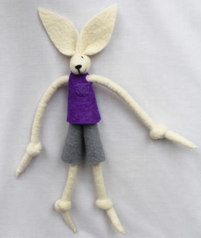 Boy Bunny Purple