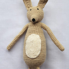 Crochet Rabbit – Woodland Friends Collection