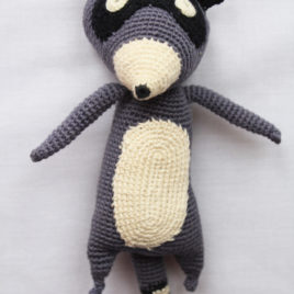Crochet Racoon – Woodland Friends Collection