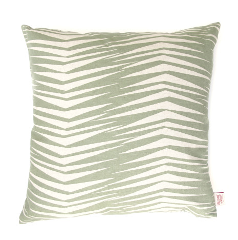 Fronds cushion in SAGE (2)