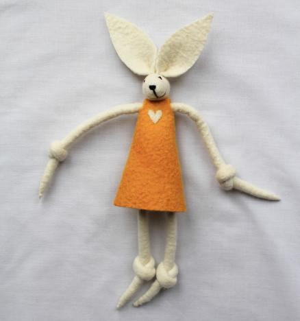 Girl Bunny Mustard