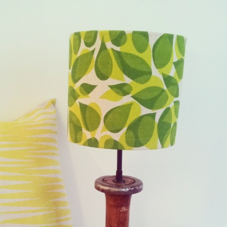 Beech Leaves Lampshade 3