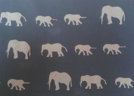 Elephant Lampshade 3