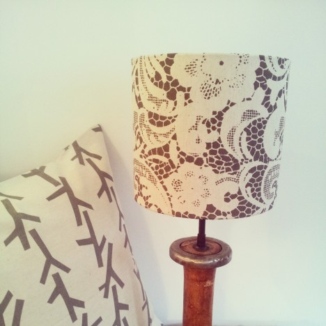 Lace Lampshade 1
