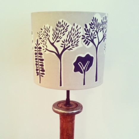 Woodland Lampshade 1