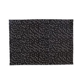 Black Speck Placemats