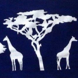 Giraffe Savannah Lampshade