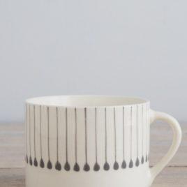 Grey Line Mug