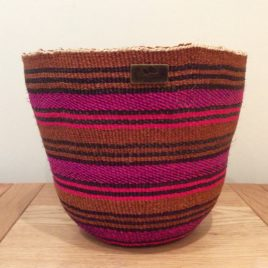 Pacca (Lovely Person) Pink and Purple Sisal Basket