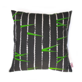 Zigzag Tarmac Scatter Cushion Cover