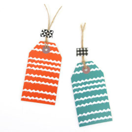 Zig Zag Gift Tags (Set of 6)