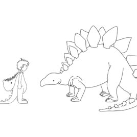 Dinosaur Boy – Limited Edition Illustration