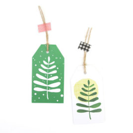 North & South Gift Tags (Set of 6)