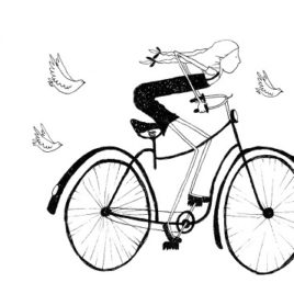 Racing the birds home – Limited Edition Illustration