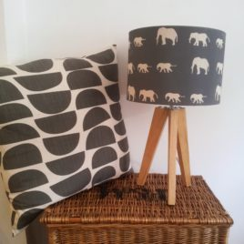 Walking Elephants Lampshade