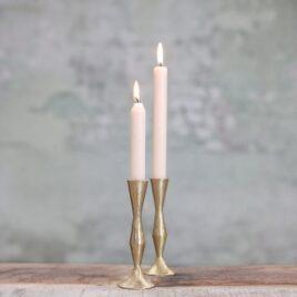 Brass Tall Candlestick Holder